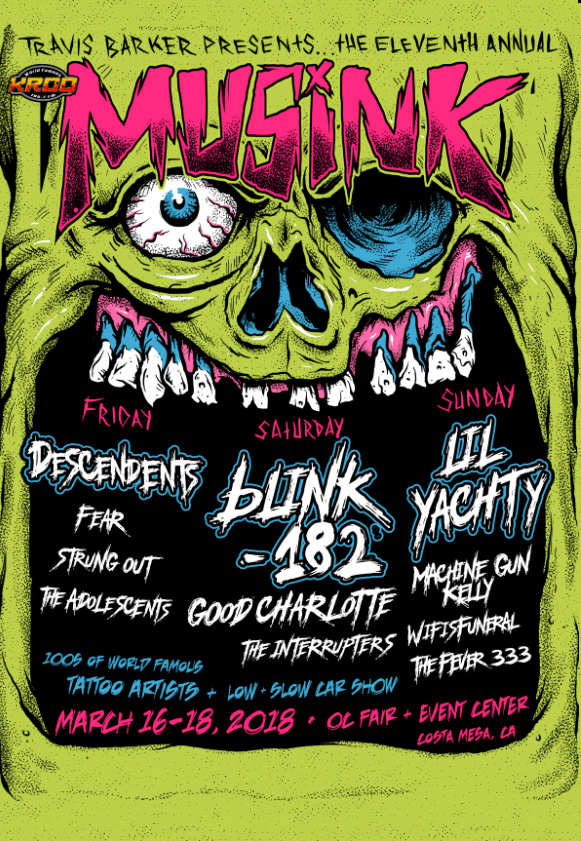 Musink Festival 2018 at OC Fair & Event Center (Costa Mesa, CA)